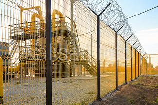 Забор повышенной безопасности